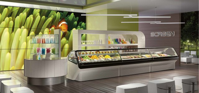 Gelateria pasticceria gastonomia screen for Ifi arredi bar