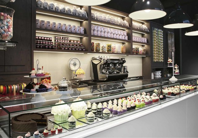 Gelateria pasticceria gastonomia drop in for Ifi arredi bar